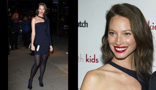 Christy Turlington Sure Did Rock This Red Lip I Gave Her